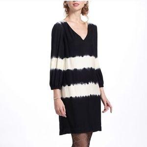 Anthropologie Floreat Inkwash Shift Dress